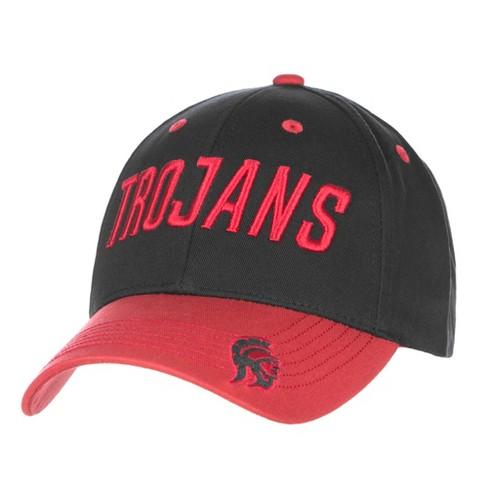 Baseball Hats NCAA USC Trojans Black Cardinal - image 1 of 1
