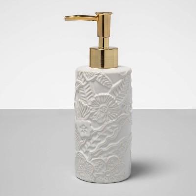 Tropical Field Soap Pump White - Opalhouse™