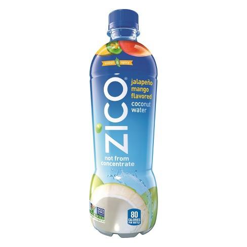 ZICO Jalapeno Mango Flavored Coconut Water - 16.9 fl oz Bottle - image 1 of 3