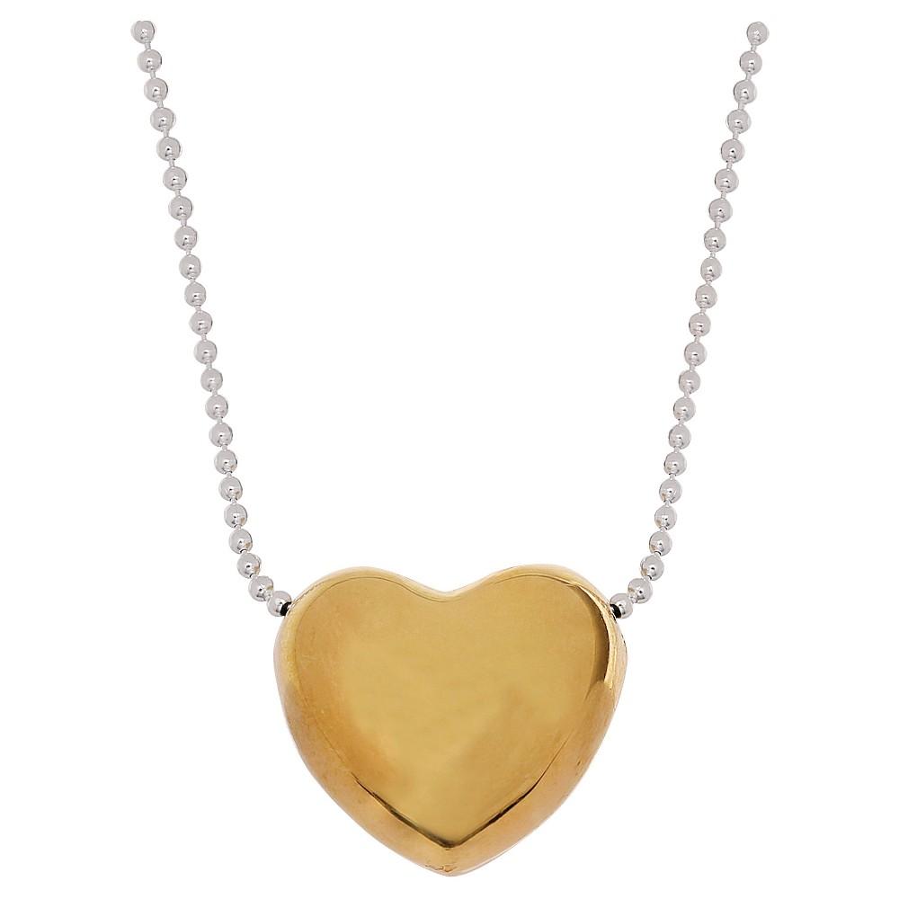 Target Women's Heart Pendant in Vermeil on Sterling Silve...