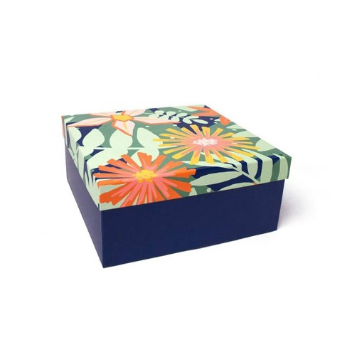 Floral Square Gift Box - Spritz™ - image 1 of 2