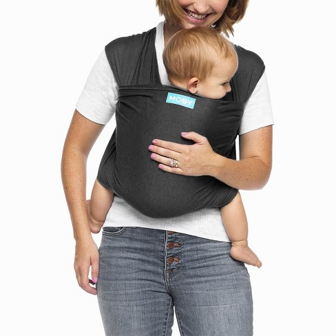 0121d744733 Moby Evolution Wrap Baby Carrier - Charcoal   Target
