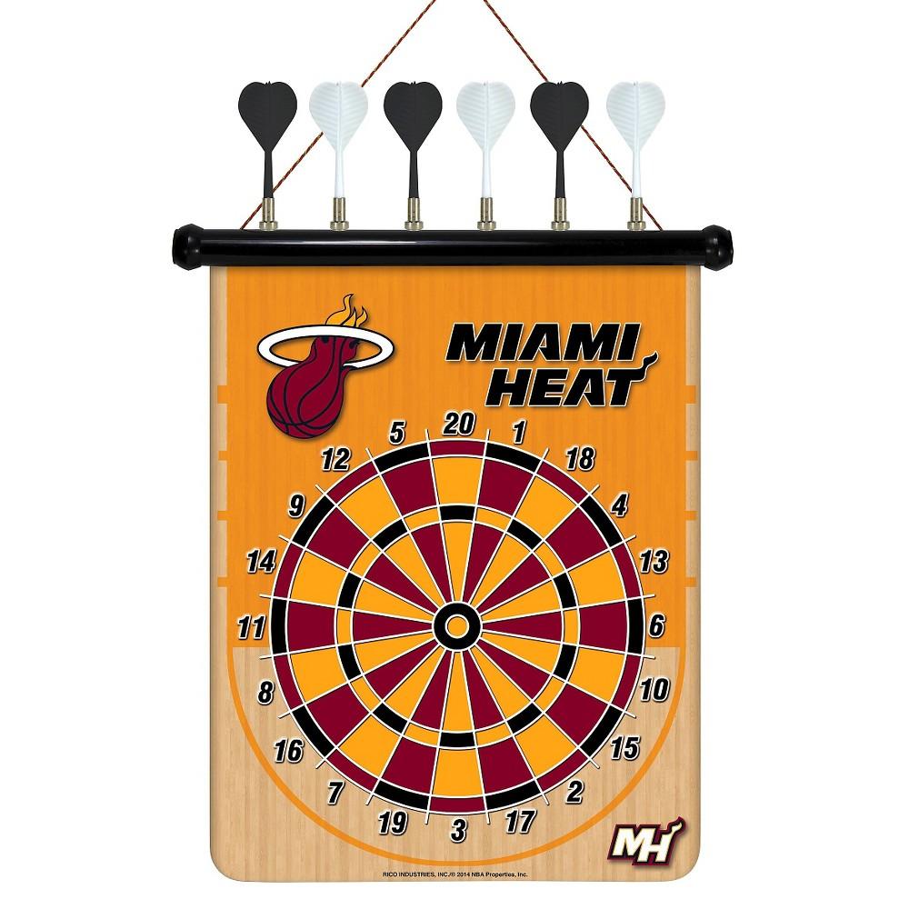 NBA Magnetic Dart Set Miami Heat