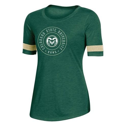 NCAA Colorado State Rams Women's Short Sleeve Crew Neck T-Shirt - image 1 of 2