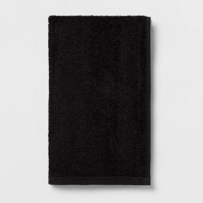Everyday Hand Towel Black - Room Essentials™