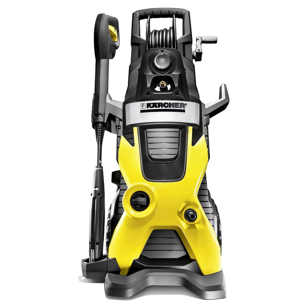 Image of 120 Volts, 1560 Watts K5 Premium 2000 Psi 1.5 Gpm Electric Pressure Power Washer - Yellow - Karcher