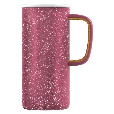 1fefc7399c9 Ello® Campy 16oz Stainless Steel Insulated Travel Mug - Raspberry