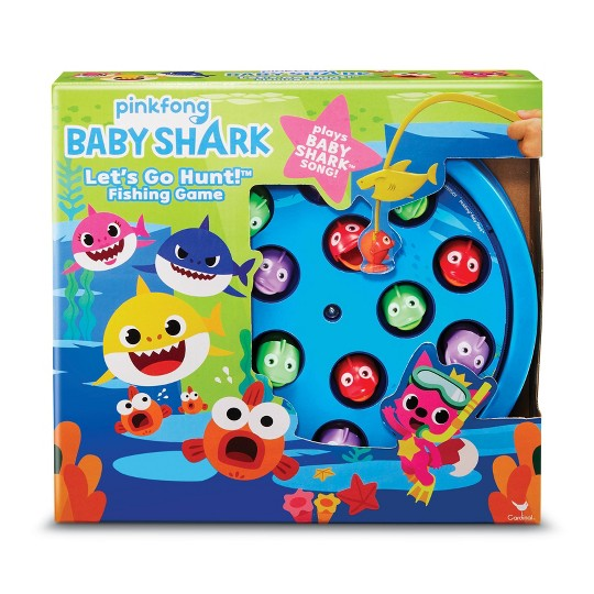 Pinkfong Baby Shark Let's Go Hunt! Fishing Game, Kids Unisex image number null