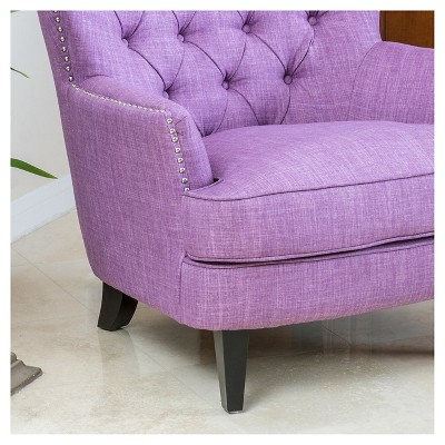 Tafton Tufted Club Chair   Christopher Knight Home