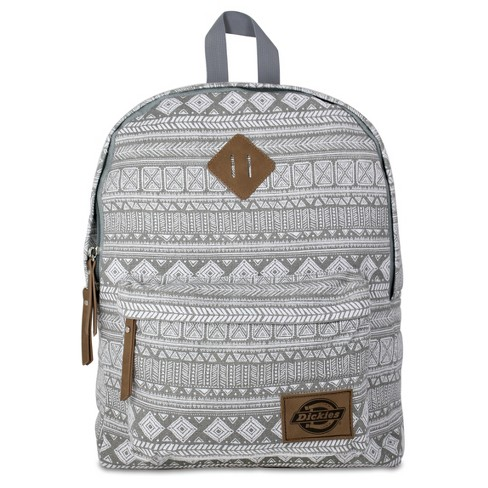 Dickies Classic Canvas Backpack - Gray Tribal - image 1 of 3