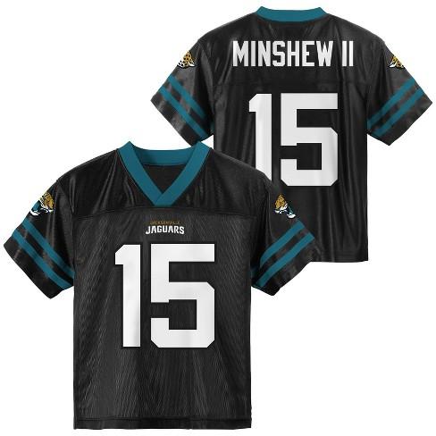 NFL Jacksonville Jaguars Boys' Gardner Minshew Short Sleeve Jersey - image 1 of 3