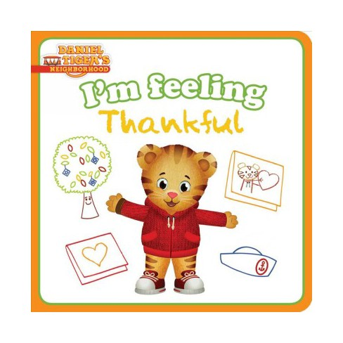 I'm Feeling Thankful - (Daniel Tiger's Neighborhood) by  Natalie Shaw (Board_book) - image 1 of 1