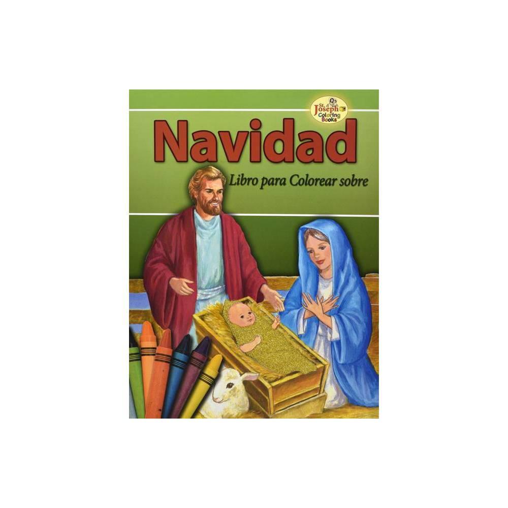 Navidad Coloring Book St Joseph Coloring Books By Emma C Mc Kean Paperback