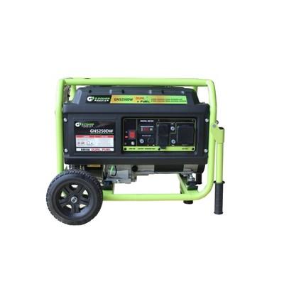 Green-Power 5250w/4750w Dual Fuel GN5250DW Generator