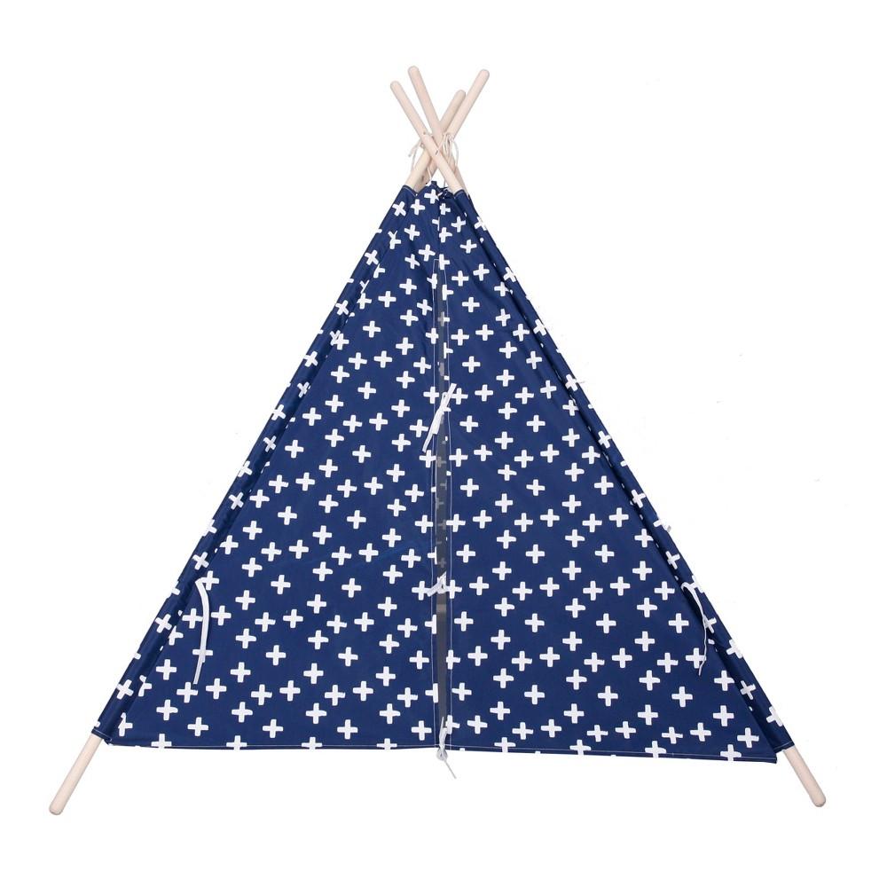 Tall Teepee Plus Sign - Blue - Pillowfort