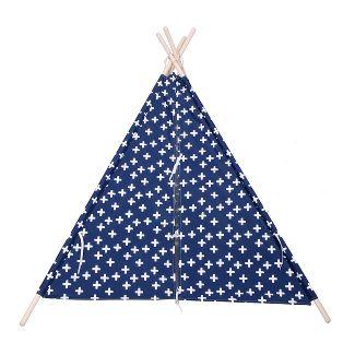 Tall Teepee Plus Sign - Blue - Pillowfort™