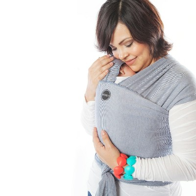 Moby Evolution Wrap Baby Carrier - Mist Blue