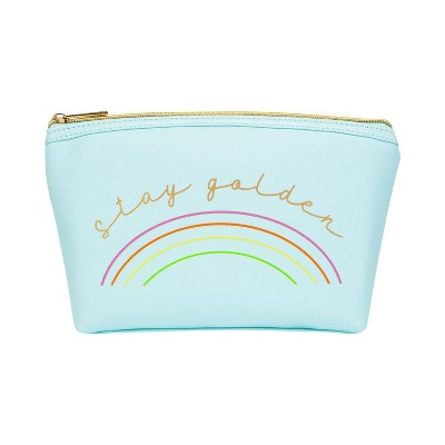Ruby+Cash Zip Cosmetic Pouch - Stay Golden