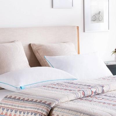 King 2pk Essentials Shredded Memory Foam Bed Pillow - Linenspa