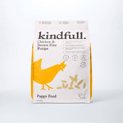 Chicken and Brown Rice Puppy Recipe Dry Dog Food - Kindfull™