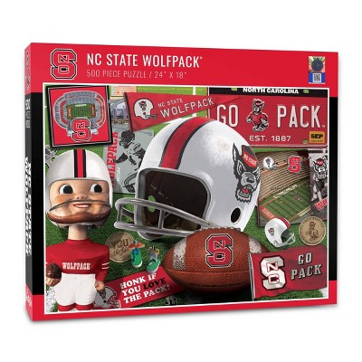 NCAA NC State Wolfpack Throwback Puzzle 500pc