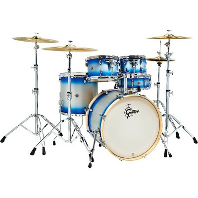 """Gretsch Drums Catalina Special Edition Birch 5-Piece Shell Pack with 22"""" Bass Drum Blue Silver Duco"""