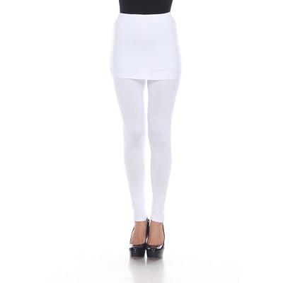 Women's Skirted Leggings - White Mark