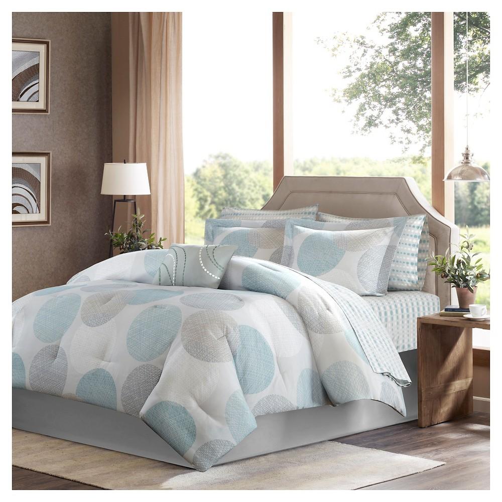 Buy Cabrillo Complete Multiple Piece Comforter Set (Twin) 7-Piece - Aqua