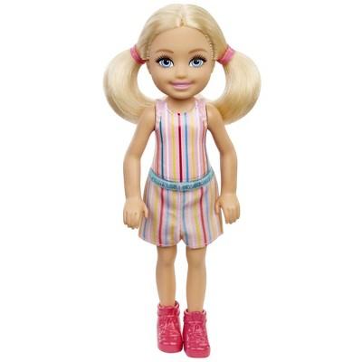 Barbie Chelsea Doll - Striped Print Skirt