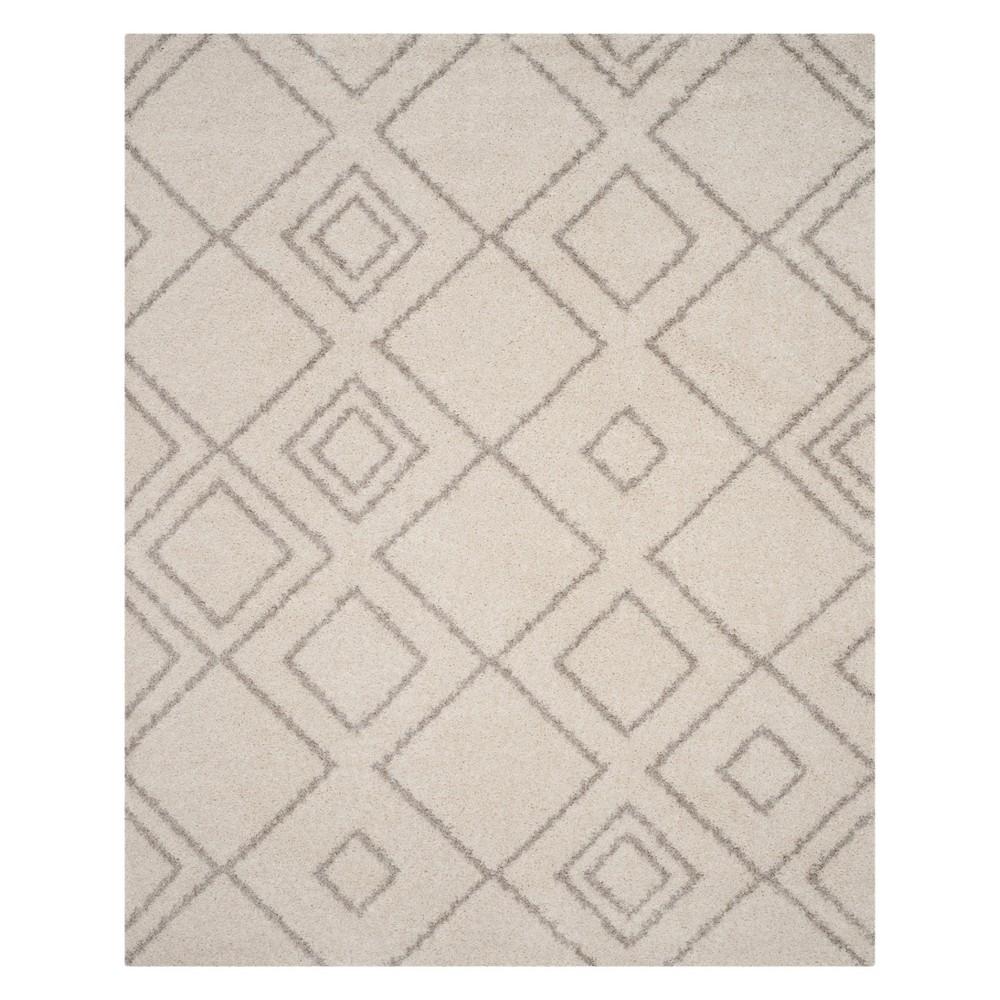 Geometric Area Rug Ivory/Beige