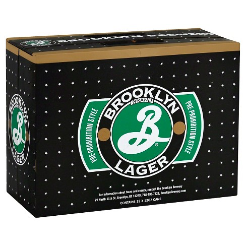 Brooklyn Lager Beer -12pk/12 fl oz Cans - image 1 of 1