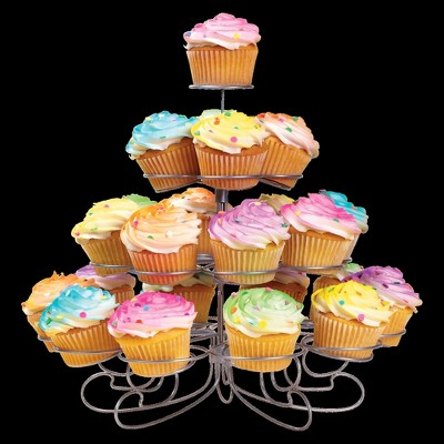 Wilton Cupcakes-and-More 4 Tier Dessert Stand
