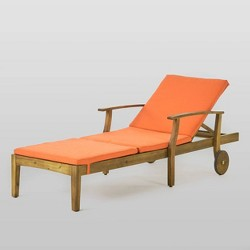 Perla Acacia Chaise Lounge - Christopher Knight Home