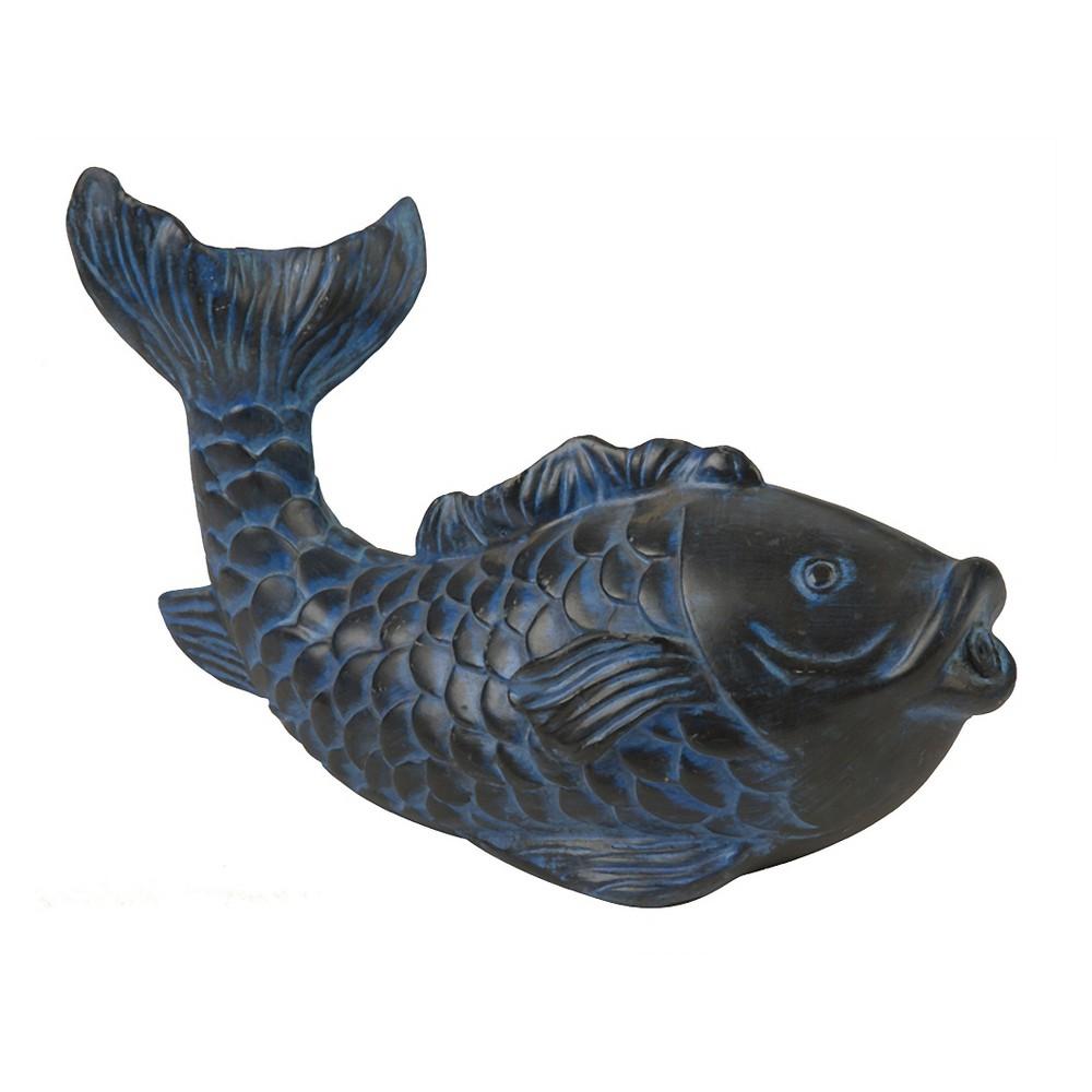 5.6 Pond Boss Fish Spitter - Blue