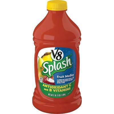 V8 Splash Fruit Medley Juice - 64 fl oz Bottle