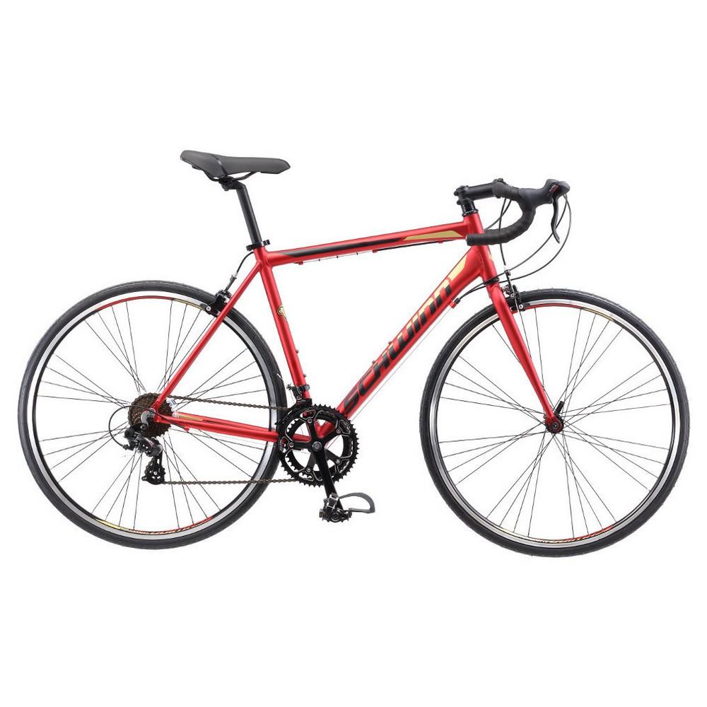 Schwinn Men's Volare 1400 28 Drop Bar Road Bike - Red