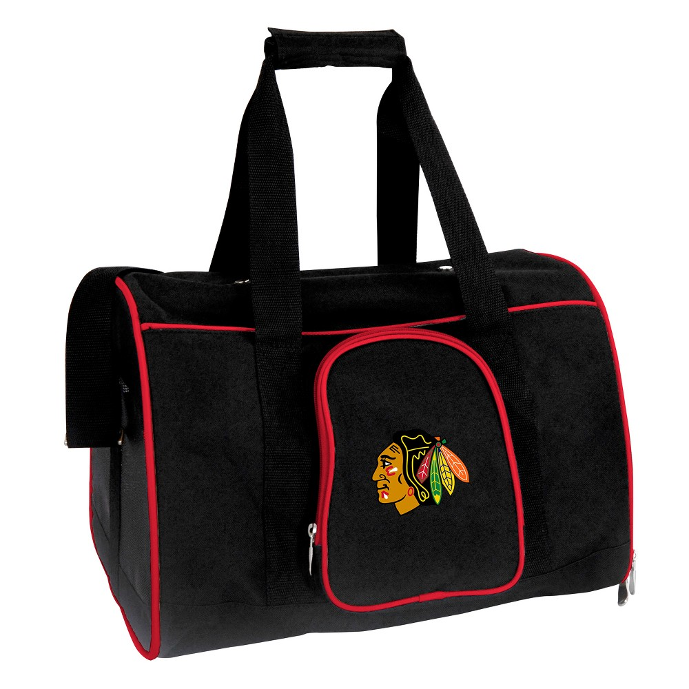 Chicago Blackhawks 16 Dog and Cat Carrier