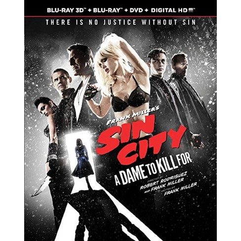 Frank Miller's Sin City: A Dame to Kill For (Blu-ray/DVD/UV) - Target Exclusive - image 1 of 1