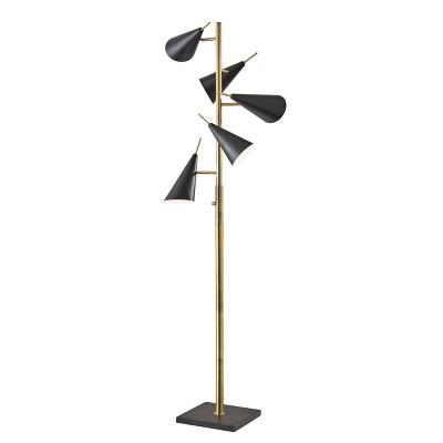 "71.5"" Owen Tree Lamp Black - Adesso"