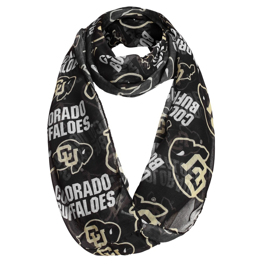 NCAA Women's Fashion Scarves Colorado Buffaloes - Black