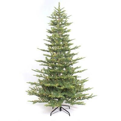 7.5ft Pre-lit Artificial Christmas Tree Full Alaskan Fir