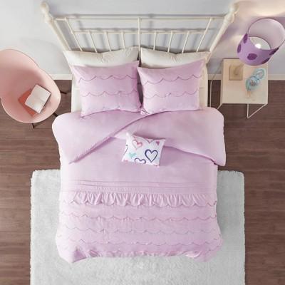 Sabrina Comforter Set Pink