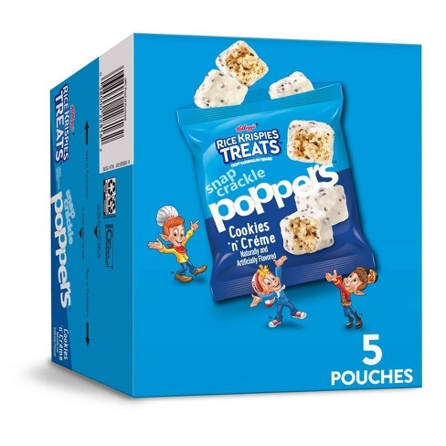 Rice Krispies Treats Cookies & Creme Poppers - 5ct - image 1 of 4