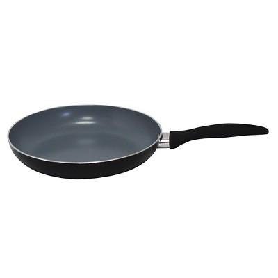 Gourmet Chef 8 Inch Eco Friendly Non Stick Ceramic Fry Pan - Black
