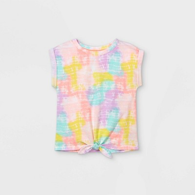 Toddler Girls' Tie-Front T-Shirt - Cat & Jack™