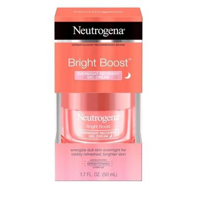 Neutrogena Bright Boost Overnight Recovery Gel Cream - 1.7 fl oz