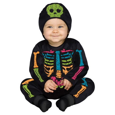 Colored Bones Baby Costume - image 1 of 1