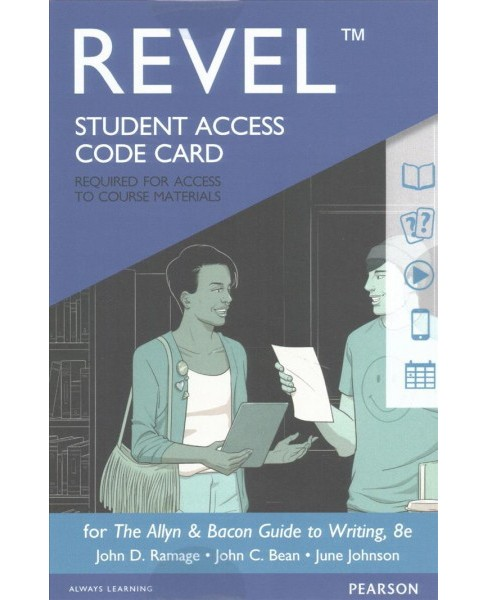Revel for The Allyn & Bacon Guide to Writing Revel Access Card -  (Hardcover) - image 1 of 1