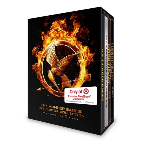 Hunger Games Collection Steelbook Target Exclusive Blu Ray