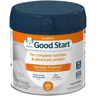 Gerber Good Start GentlePro Powder Infant Formula with Probiotics & HMO - 20oz